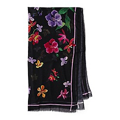 Lands' End - Black veranda floral sarong