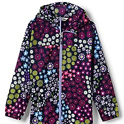 Lands' End - Multi girls' navigator packable rain coat