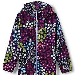 Lands' End - Multi girls' navigator packable rain coat