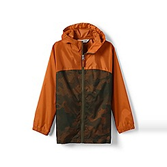 Lands' End - Multi boys' navigator packable rain coat