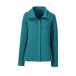 Lands' End - Blue sweater fleece jacket