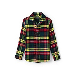 Lands' End - Boys' multi flannel shirt