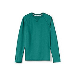 Lands' End - Green boys' raglan top
