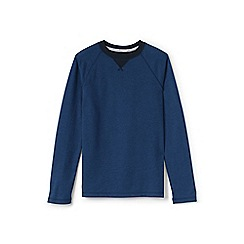 Lands' End - Blue boys' raglan top
