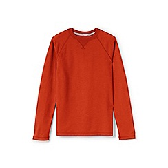 Lands' End - Orange boys' raglan top