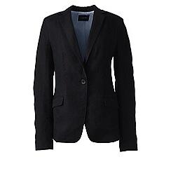 Lands' End - Black linen jacket