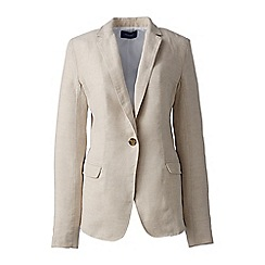Lands' End - Beige linen jacket