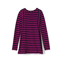 Lands' End - Girls' multi long sleeve jersey legging top