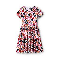 Lands' End - Girls' multicoloured sateen twirl dress