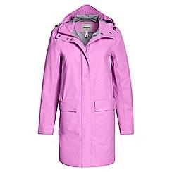 Lands' End - Purple slicker rain jacket