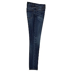 Lands' End - Blue slouchy indigo slim jeans