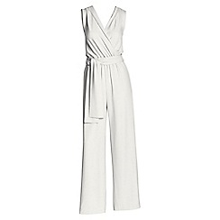 Lands' End - White long jumpsuit