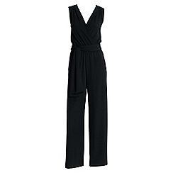 Lands' End - Black long jumpsuit