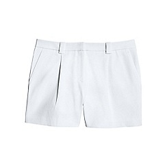 Lands' End - White stretch shorts