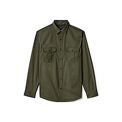 Lands' End - Green regular field shirt