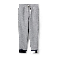 Lands' End - Boys' grey cuffed sweatpants