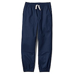 Lands' End - Blue boys' iron knee woven joggers