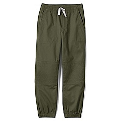Lands' End - Green boys' iron knee woven joggers