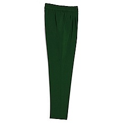 Lands' End - Green casual slim trousers
