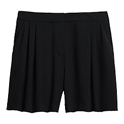 Lands' End - Black swing shorts