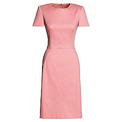Lands' End - Pink short sleeve a-line dress