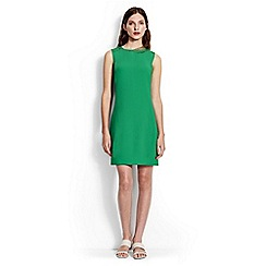 Lands' End - Green mini shift dress