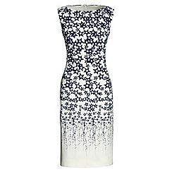 Lands' End - White sleeveless shift dress