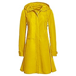 Lands' End - Yellow long swing parka