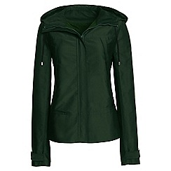Lands' End - Green short swing parka
