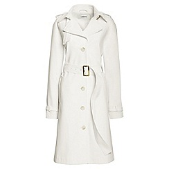 Lands' End - White trench coat