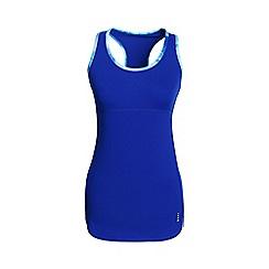 Lands' End - Blue leisure sport speed running vest top