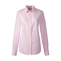 Lands' End - Pink regular supima tailored non iron shirt