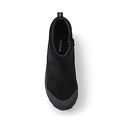 Lands' End - Black everyday suede boots