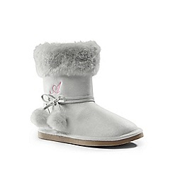 Lands' End - Metallic cosy boots