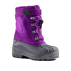 Lands' End - Dark purple expedition snow boots