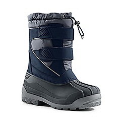 Lands' End - Blue snow plough boots