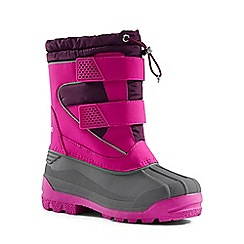 Lands' End - Pink snow plough boots