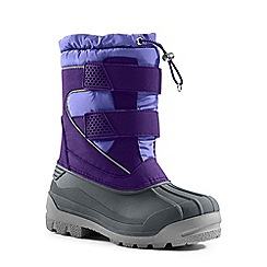 Lands' End - Purple snow plough boots