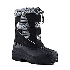 Lands' End - Black snow plough boots