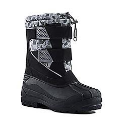 Lands' End - Black snow plough boots