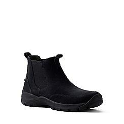Lands' End - Black regular everyday chelsea boots
