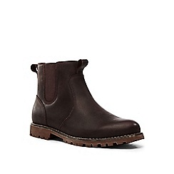 Lands' End - Brown rugged chelsea boots