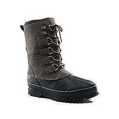 Lands' End - Grey snow pack boots