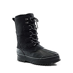 Lands' End - Black snow pack boots