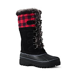 Lands' End - Black regular hillary tall winter boots