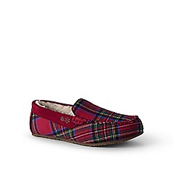 Lands' End - Red moccasin slippers