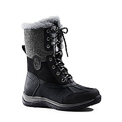 Lands' End - Black avalanche winter boots