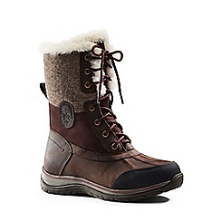 Lands' End - Brown avalanche winter boots