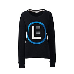 Lands' End - Black signature sweatshirt