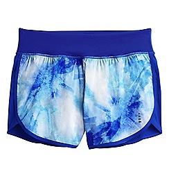 Lands' End - Blue leisure sport patterned running shorts